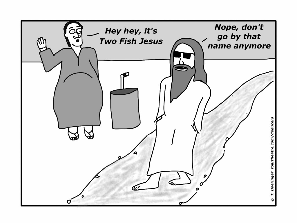 jesus feeds the 5000 archives the deducers
