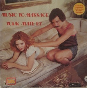creepy album covers music to massage your mate by