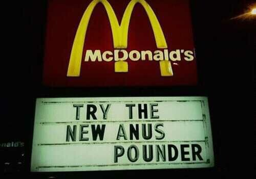 Fast food fail